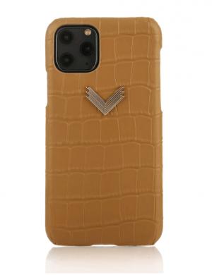 Husa iPhone 11 Pro Max piele embosata croco Harmony