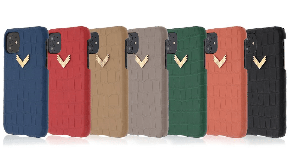 huse iphone 11 piele embosata croco-min