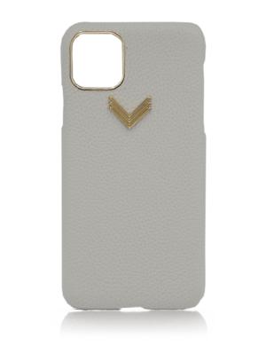 Husa iPhone 11 Pro piele granulata Grey