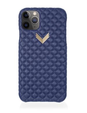 Husa iPhone 11 Pro PIELE KANDA Deep Ultramarine