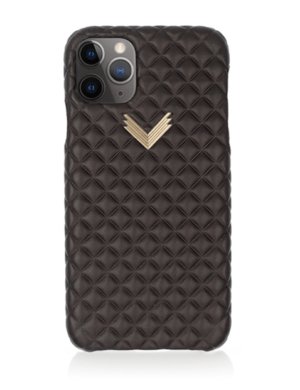 Husa iPhone 11 Pro Max PIELE KANDA Dark Chocolate