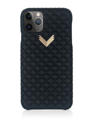 Husa iPhone 11 Pro Max PIELE KANDA Mystery Black