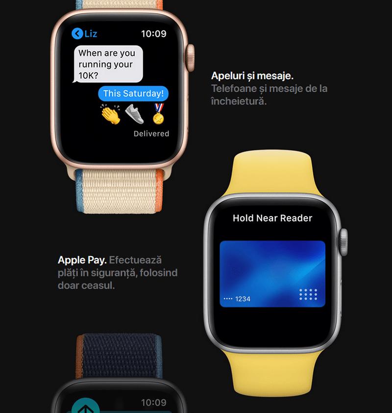 Apple Watch Series 6 mesaje, Apple Pay-min