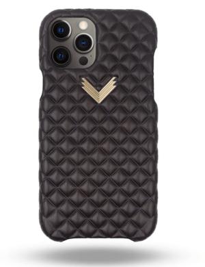 Husa iPhone 12 Pro PIELE KANDA Dark Chocolate