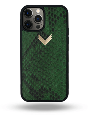 Husa iPhone 12 Pro Max PIELE PITON Forest