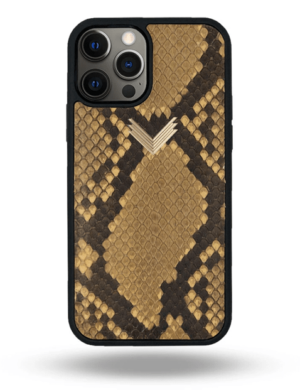 Husa iPhone 12 Pro Max PIELE PITON Sahara M