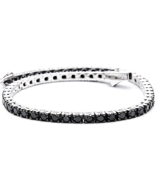 AR3377 bratara tennis diamante aur alb ARJEWELS